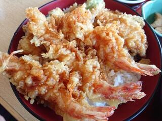 魚あら - 活天丼(2,000・別)