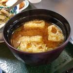 焼酎居酒屋山之手 - ランチのお味噌汁
