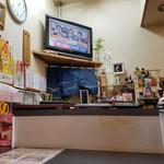 焼酎居酒屋山之手 - カウンター席でTV見れます