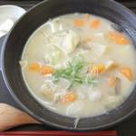 俵山交流館 萌の里 - 熊本の郷土料理「だご汁」