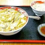 チャンポン福龍 - カレー中華丼(\800)