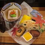 紅鮎 - 料理写真:前菜