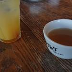 ジョジョズ カフェ&バー - オレンジジュースとスープ