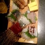海鮮居酒屋 魚竹水産  - 刺身盛り