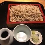 そば季寄 武蔵屋 - シメはせいろ蕎麦(700円)