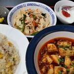 97438250 - 麻婆豆腐定食。
