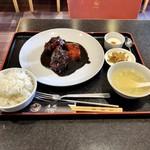 唐苑 - 黒酢酢豚定食1
