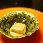 97441979 - 季節の味覚ととうふ鍋コース (¥5,400) 焼き胡麻とうふ