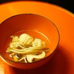 とうふ屋うかい - 季節の味覚ととうふ鍋コース (¥5,400) 季節の鍋