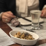 日本酒バル 蔵のや - 白菜とかぶの塩昆布和え