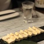 日本酒バル 蔵のや - 酒盗クリームチーズ