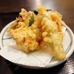 麺ごころ にし平 - 料理写真:天ぷらうどん(とり天)