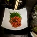 海鮮居酒屋 魚竹水産  - チャンジャ