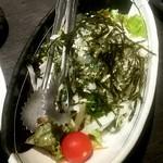 海鮮居酒屋 魚竹水産  - 大根サラダ