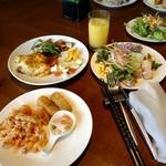 レストラン グリルテーブル ウィズスカイバー - ランチビュッフェ