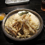 山元麺蔵 - 土ゴボウの天ざる 890円