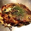 お好焼き かたおか - 料理写真:麺パリパリ府中焼き