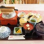 レストラン大博 - タイ釜めし天ぷら定食その1