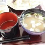 レストラン大博 - みそ汁
