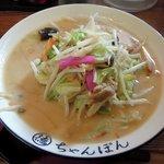 97453918 - 一鶴 「ちゃんぽん 野菜増し」