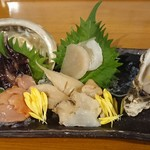 かいのみ - 貝刺し6種盛り(1人前)