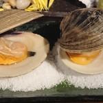 かいのみ - 焼き白ハマグリ