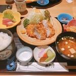 土用亭 - 料理写真:ヒレカツ膳(ランチ)