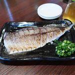 日本酒 やじろう - 大トロ炙り〆鯖