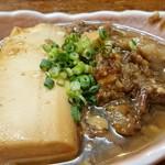 ふじ丸 - 肉豆腐