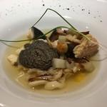メランジェ - 三平汁に見立てたスープ