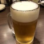 塩ホルモン 肉の寅屋 - おビール