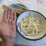 讃岐製麺所 - 太うどんは 断面4㍉×6㍉の長方形 小200g「香川うどん屋平均220g]...................................手相金運が無い