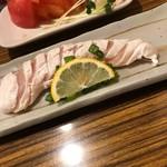 串よし - ササミの刺身