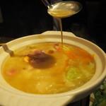 九州 熱中屋 - スープの濃厚なとろみ