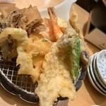 天ぷらめし 金子半之助 - ランチ 天ぷら
