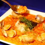 イタリアン&肉バル 北の国バル - 【冬季限定】北海道産真鱈とアサリのトマトクリームリゾット