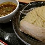 麺屋 睡蓮 - カレーつけ麺中盛。