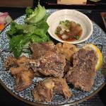 権之助FLAT - マグロ&サバ竜田定食900円