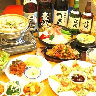 本場韓国のオモニが作る90種以上の絶品料理‼