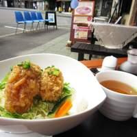 かき松島 こうは - 「カキフライDON」黒酢のジュレでいただく新しいお味です。
