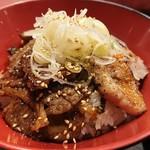 97471575 - カルビ&豚丼