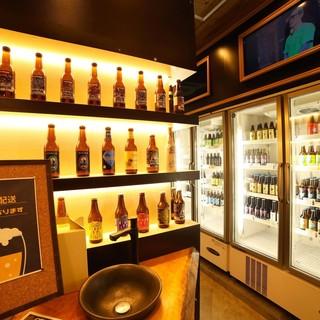 お隣のプラチナビアマルシェで気に入ったビールは持ち帰ろう!