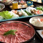 シェラトン都ホテル大阪 日本料理 うえまち - 和牛しゃぶしゃぶコース~料理イメージ~