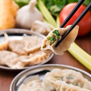 国産素材の10種の選べる野菜餃子