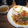 アジアンスマイル - 料理写真:ガパオご飯
