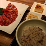 焼肉 徳 - カルビランチセット