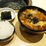 9748311 - カルビースープ定食