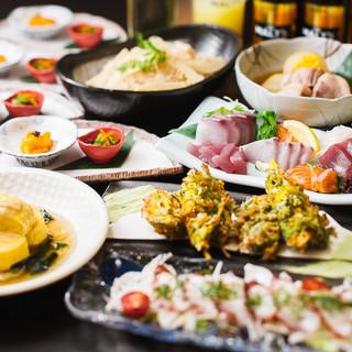 京和食をしっかり味わえるご宴会は3,500円~