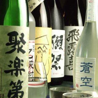 おいしい日本酒が味わえる創作京風和食をご堪能ください。