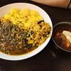 マガリーダッタ - 料理写真:スリランカキーマとサーモンデビルのハラスカレー!